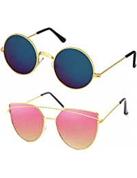 Elligator set of Two Unisex Sunglass
