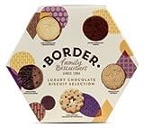 Border Biscuits Luxury Chocolate, Surtido de galleta fresca - 500 gr.