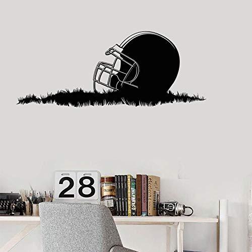 Casco de fútbol americano Super Bowl Cup Garantizado Etiqueta de la pared...