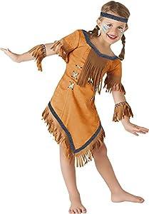 Rubies- Disfraz de indio Cherokee, M (5-7 años) (Rubie