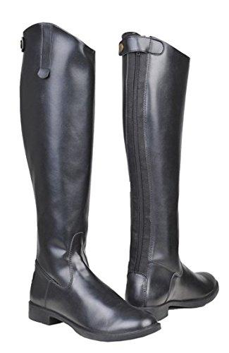 HKM Bottes d'équitation pour femme New General standard Noir - Noir