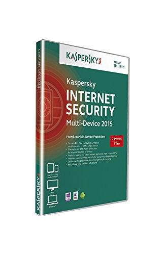 Kaspersky Internet Security 2015 Multi Device 5 User 1 Year Retail DVD Box (UK) (PC DVD)