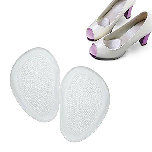 Ballotte Fersenhalter – Mittelfußpolster gegen Fußschmerzen (2,3,4 Paare) – Fußpolster-Gel für Metatarsalgie, Hornhaut, Blasen – Schnelle Hilfe bei Fußschmerzen Sandale Machen Buch