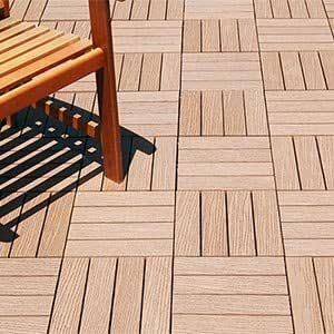 eco friendly composite bamboo decking tiles. Black Bedroom Furniture Sets. Home Design Ideas