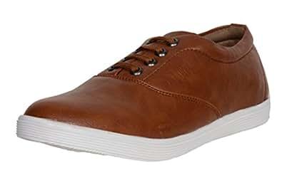 AXONZA Men's Tan Casual Shoes (6)
