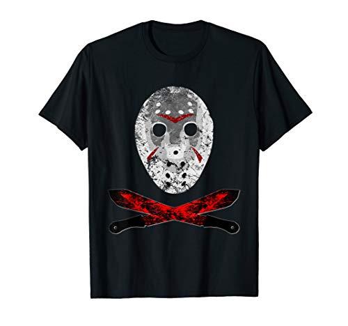 Freitag der 13 Jason Maske Machete T ()