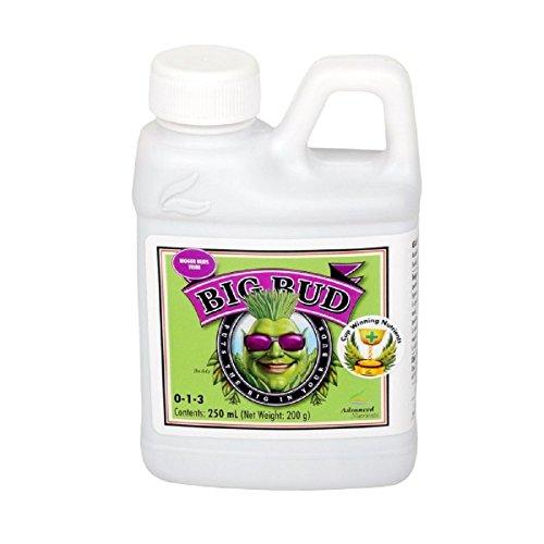Advanced Nutrients Flüssigdünger Big Bud, für Pflanzenwachstum, 250 ml