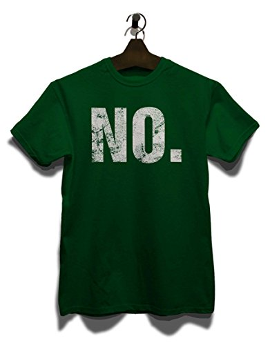No Vintage T-Shirt Dunkel Grün