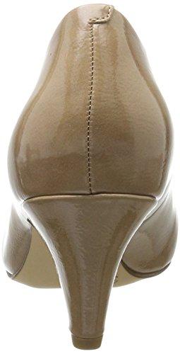 Tamaris Damen 22416 Pumps Beige (Nude Patent)