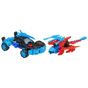 Transformers - Konstruktionsset Autobot Drift und Roughneck Dino [UK Import]