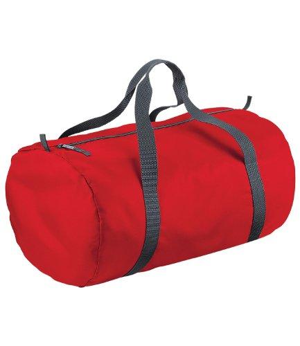 BagBase Packaway barrel bag Classic Red