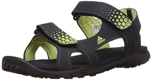 adidas Women's Argo W Dark Blue and Light Yellow Athletic and Outdoor Sandals - 8 UK  available at amazon for Rs.1999