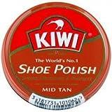 Kiwi Mid Tan Shoe Polish 32g (1-1/8 Oz.) by ACE