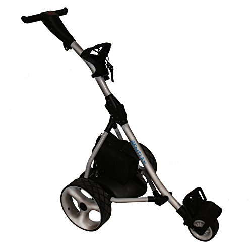 Bentley Elektro-Trolley/Golf-Caddy - 200 W 35 A-Batterie - Silberfarben