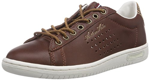 Le Coq Sportif Arthur Ashe INT Low Lea PY, Sneaker a Collo Basso Uomo^Donna, Multicolore (Tan Brown), 40 EU