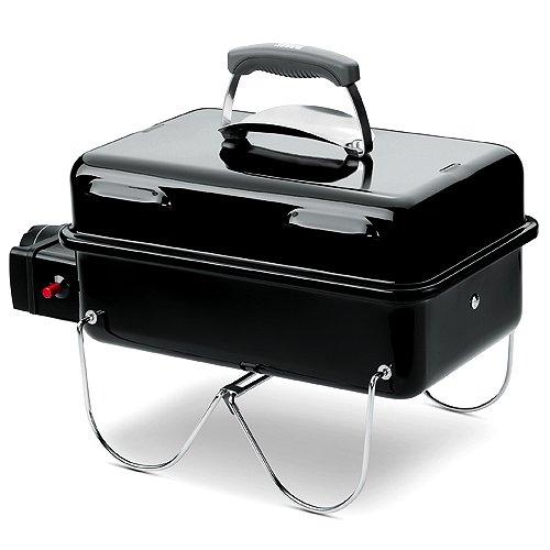 weber-barbecue 1141075(Rechteckiger Tisch 60cm/schwarz 31,5cm 22,5cm) - Weber Grill-freistehend