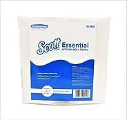 SCOTT® Essential Kitchen Towels Roll, 2 Kitchen Tissue Rolls, 125 Pulls per Paper Towel Roll - 01304A