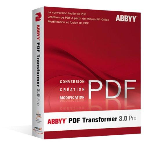 Preisvergleich Produktbild Abbyy pdf transformer 3.0 pro [Import]
