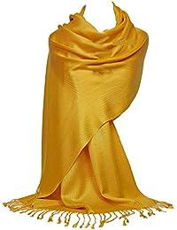 8075d88a24c475 GFM® Pashmina Style Wrap Scarf - All Seasons - Twill Weave Soft - B9