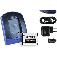 Batterie + Chargeur (USB/Auto/Secteur) pour Fujifilm NP-45 / Finepix J.. / JV.. / JX600 ../ JZ500.. / XP80 XP90.. - .v. liste