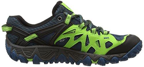 Merrell ALL OUT BLAZE, Chaussures de  Randonnée Basses homme - Blue/Green
