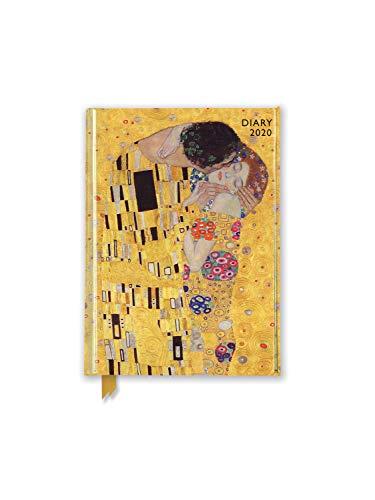 Gustav Klimt - The Kiss - Der Kuss 2020: Original Flame Tree Publishing-Pocket Diary [Taschenkalender]