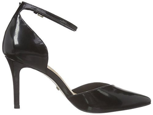 Buffalo London Damen Zs 5003-15 Box Pumps Schwarz (Black 01)