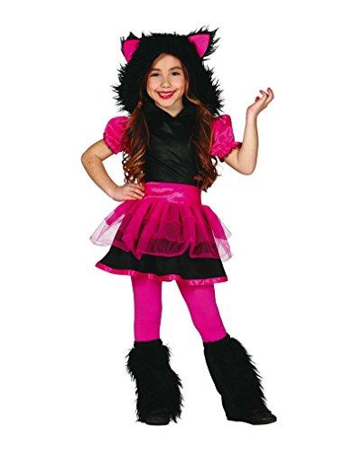 Pinkes Wolfs Mädchen Kinderkostüm (Wolf Kostüme Baby)