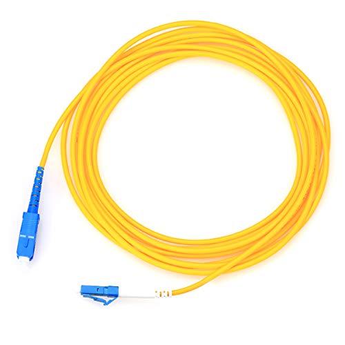 Faser Patch Kordel sc-lc 3m Single-Mode 9/125Simplex Jumper Kabel Optik Stecker -
