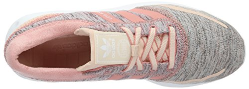 adidas Los Angeles, Baskets Basses Femme, 42 EU Rose (Blush Pink/Peach Pink/Ftwr White)