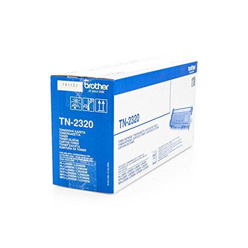 Preisvergleich Produktbild 1x Original Brother Toner TN2320 TN 2320 für Brother HL-L 2360 DN - BLACK- Leistung ca. 2600 Seiten/5%