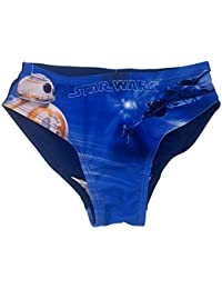 Costume da Bagno Star Wars Bambino costumino a Slip per Mare o Piscina 6  Anni Blu faf10a71d685