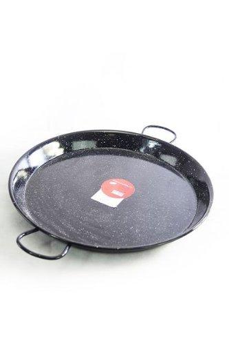 \'Vaello\' Paellapfanne (55 cm) schwarz emailliert - für bis zu 16 Personen