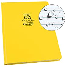 Rite in the Rain résistant aux intempéries Hardcover Executive ordinateur portable, (770 F-mx) jaune