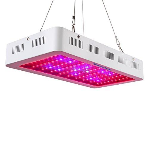 Roleadro LED Cultivo 300w LED Grow Light Talla Grande,Luces LED Grow con La luz UV del IR para Grow Box Armario Cultivo Interior 400 * 210 * 60 mm