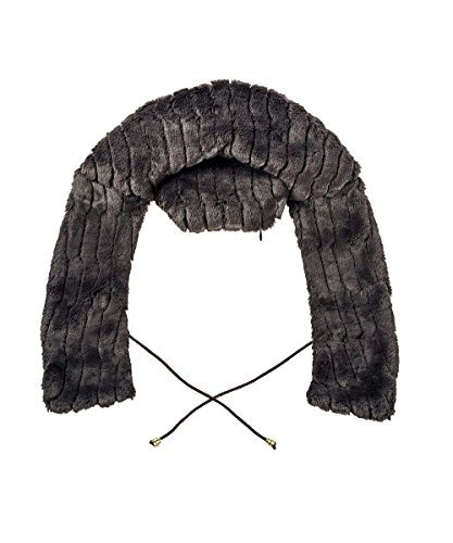 Fashy Wärmekissen in Form von Kragen, Füllung Blumenmischung Vergewaltigung, Besteck mit der Haut Synthetische hochwetigem, schwarz (Kragen-polyester Acryl)