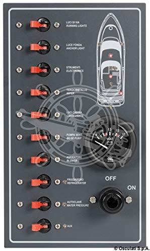 OSCULATI Pannello 10 interruttori magnetotermici