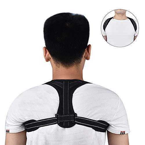 Lage-Korrektor, Verstellbare Rücken Strecker Ober Rückengurt Für Clavicleweinlesehalskette Unterstützung Und Bereitstellung Von Schmerzlinderung Und Korrektur Der Körperhaltung
