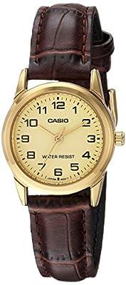 Casio Reloj con Movimiento Cuarzo japonés Woman Ltp-V001Gl-9B 31 mm