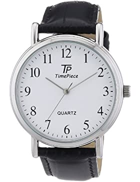 Time Piece Herren-Armbanduhr XL Classic Analog Quarz Leder TPGA-32336-13L