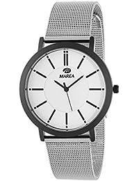 Reloj Marea Analógico para Hombre B21176 17 con Malla Milanesa de Acero 1cbbd05f8f6e