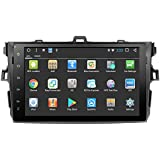 """9"""" Car GPS Player Capacitive Touchscreen IPS Display Double DIN with Bluetooth For 2007 2008 2009 2010 2011 Toyota corolla"""