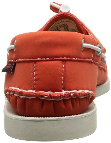 Sebago Docksides, Chaussures Bateau Homme Orange (Orange)