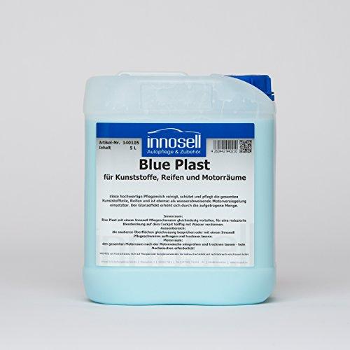 Preisvergleich Produktbild Blue Plast Kunststoffpflege Reifenpflege Motorversiegelung Tiefenpflege Innen und Außenbereich 5 L