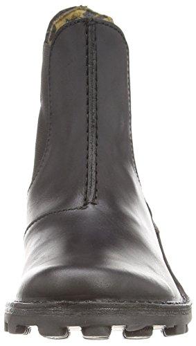 Fly London Muna, Bottes Classiques Femme Noir (Black 000)