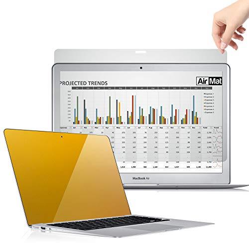 Premium Blickschutzfilter für MacBook Pro 13 Zoll Touch Bar, Privacy Screen Filter, Anti-Spy Blickschutzfolie - von AirMat (Model A1708 / A1706) (Premium-touch-screen)