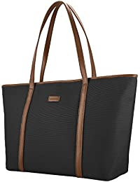 6023d98f77e44 CHICECO Nylon Arbeit Shopper Tasche Handtasche Damen - Schwarz