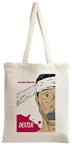 dexter poster Tote Bag (Tote Dexter Bag)