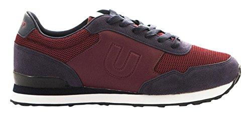 Umbro Umbro Trafford Blueprint/weiß–Schuh für New Claret / Dark Navy / Blanco