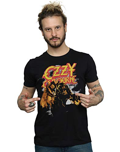 Absolute Cult OZZY Osbourne Hombre Vintage Werewolf Camiseta...